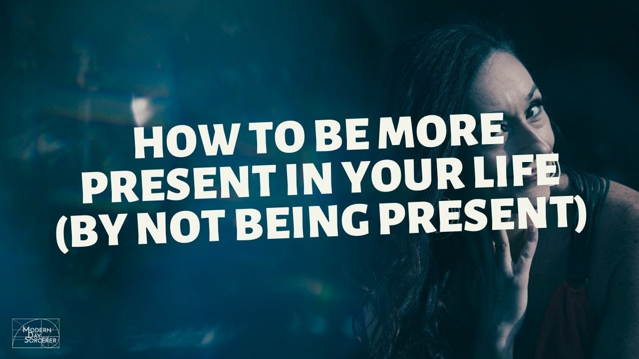 How To Be More Present cover image